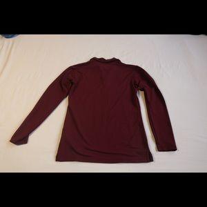 Small Nike active collard long sleeve shirt